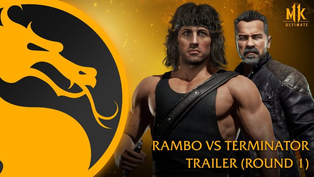 Foto de Estupendos gameplay de Rambo vs. Terminator para Mortal Kombat 11 Ultimate