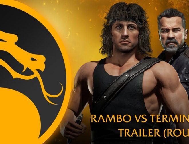 Fotos de Estupendos gameplay de Rambo vs. Terminator para Mortal Kombat 11 Ultimate