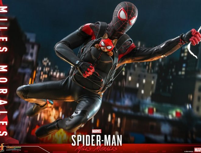 Fotos de Hot Toys da a conocer la increíble figura de Spider-Man: Miles Morales