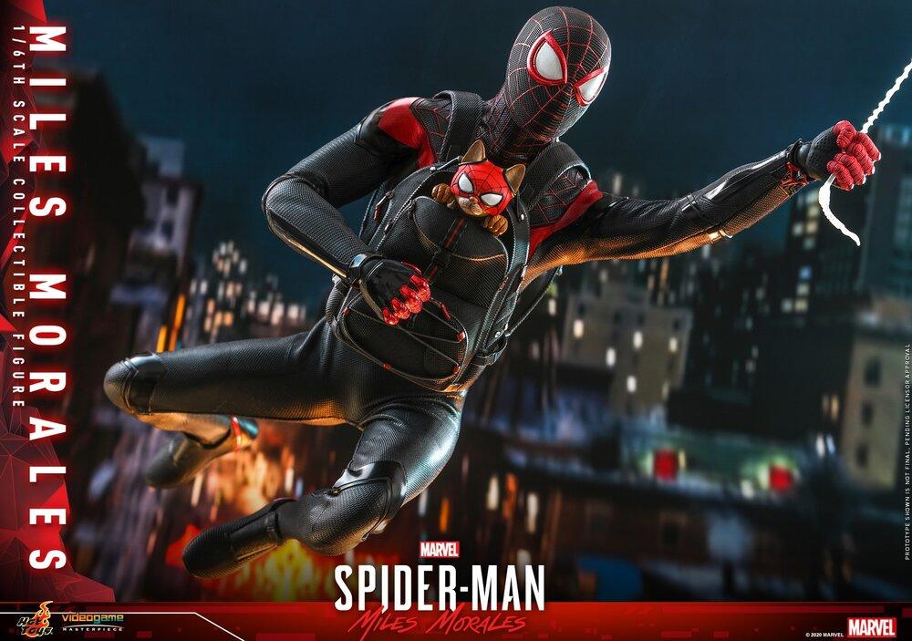 Foto de Hot Toys da a conocer la increíble figura de Spider-Man: Miles Morales