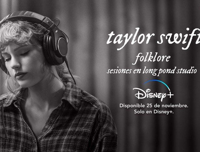 Fotos de El concierto folkflore: sesiones en long pond studio de Taylor Swift, ya se encuentra en Disney Plus