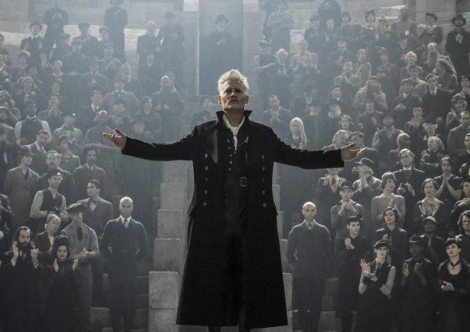 """Fotos de Johnny Depp deja su papel de """"Grindelwald"""""""
