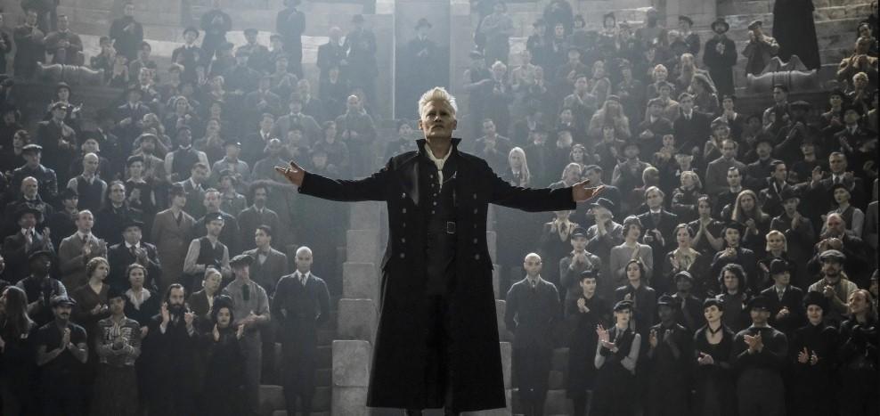 "Foto de Johnny Depp deja su papel de ""Grindelwald"""
