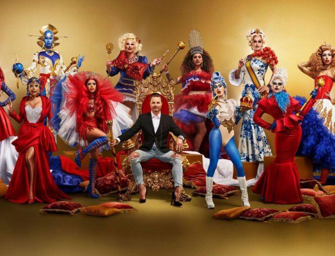 """Fotos de Peruana gana reality show """"Drag Race Holland"""""""