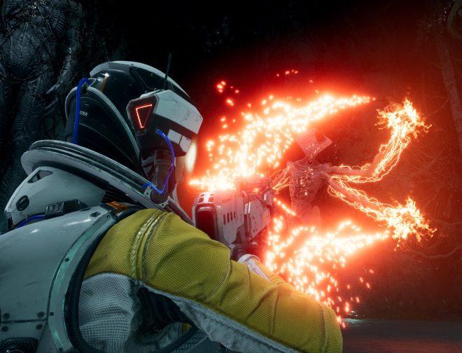 Fotos de Disfruta del excelente gameplay de Returnal, juego exclusivo para PlayStation 5