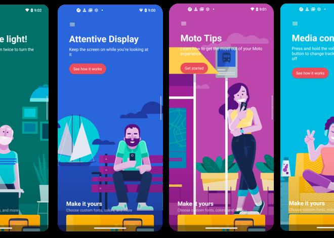 Fotos de App Moto: Llega nueva actualización de la aplicación de Motorola, priorizando la accesibilidad y la diversidad