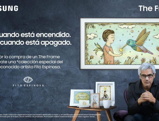 Fotos de Disfruta el arte del reconocido artista Fito Espinosa en un televisor The Frame