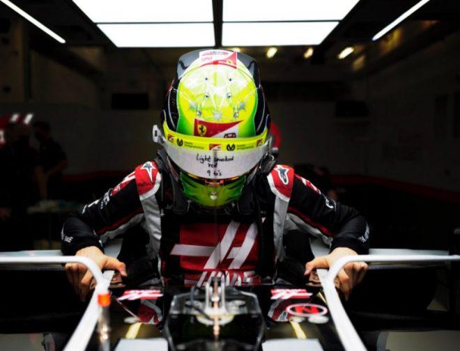 Fotos de Mick Schumacher y Nikita Mazepin son los pilotos de Haas F1 Team para la temporada 2021 de la Fórmula 1