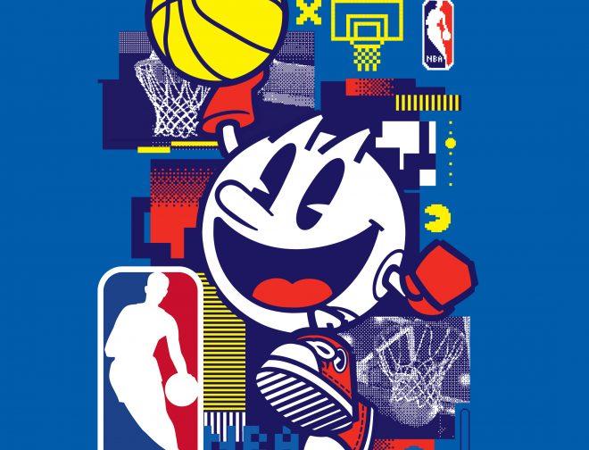 Fotos de Bandai Namco Entertainment Inc. y la NBA anuncian una asociación para celebrar el 40 aniversario de PAC-MAN