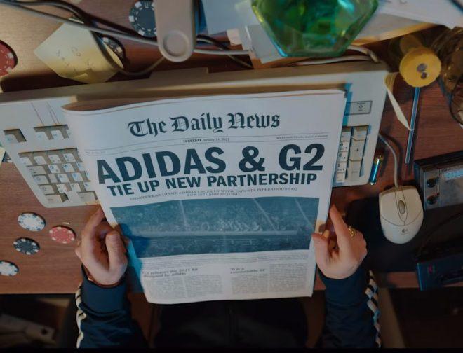 Fotos de La organización G2 Esports se asocia con la marca deportiva Adidas