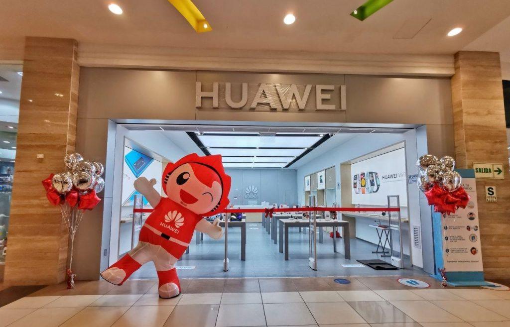 Foto de Huawei implementa su tienda online en Perú