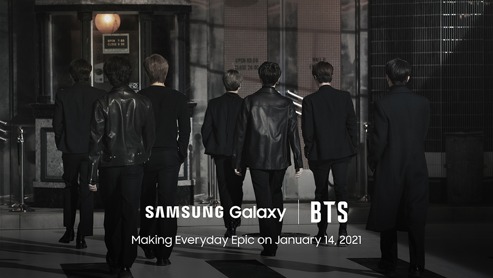 Foto de Haz que tu día a día sea épico con Galaxy y BTS