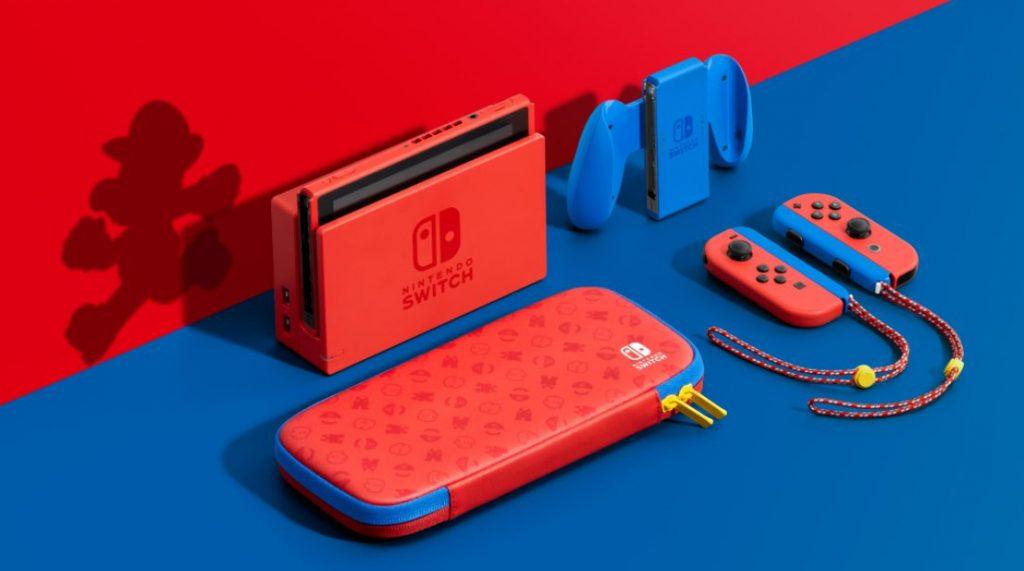 Foto de Se anuncia la Nintendo Switch Mario Red & Blue Edition
