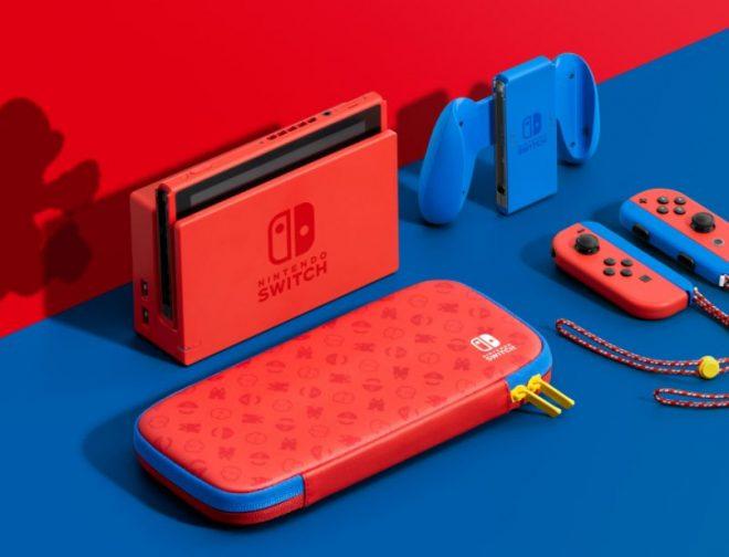 Fotos de Se anuncia la Nintendo Switch Mario Red & Blue Edition