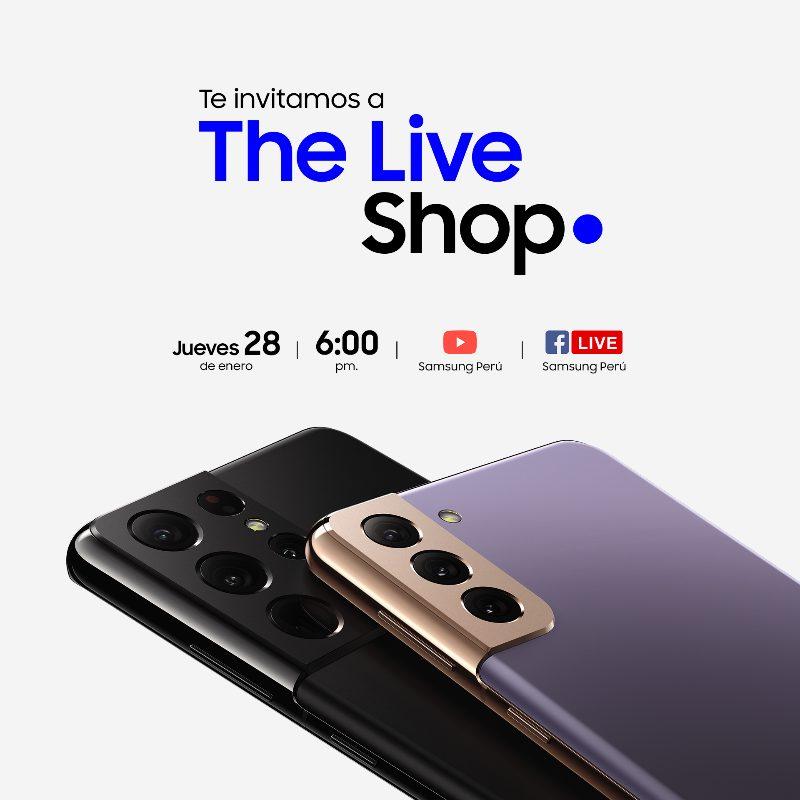 Foto de Samsung te invita a participar del evento THE LIVE SHOP