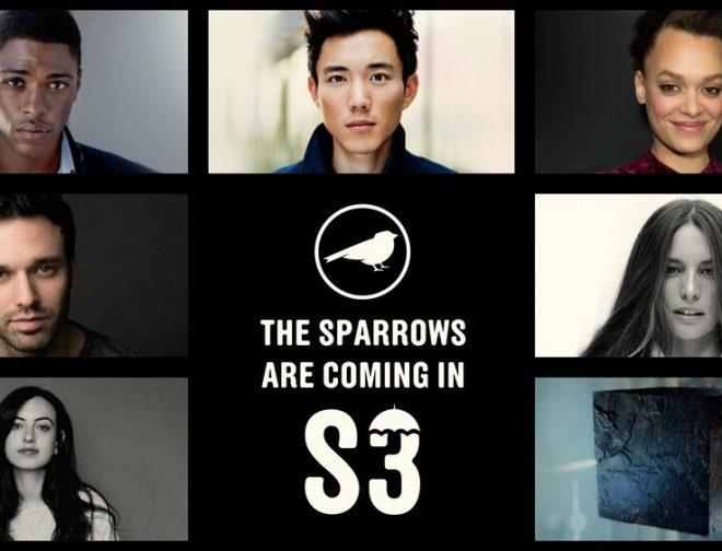 Foto de Netflix da a conocer a los estudiantes de The Sparrow Academy