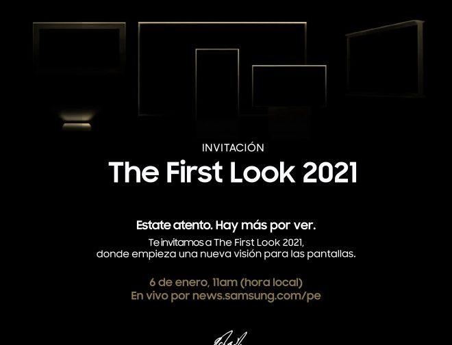 """Fotos de Día y hora del evento de Samsung, """"The First Look 2021"""""""