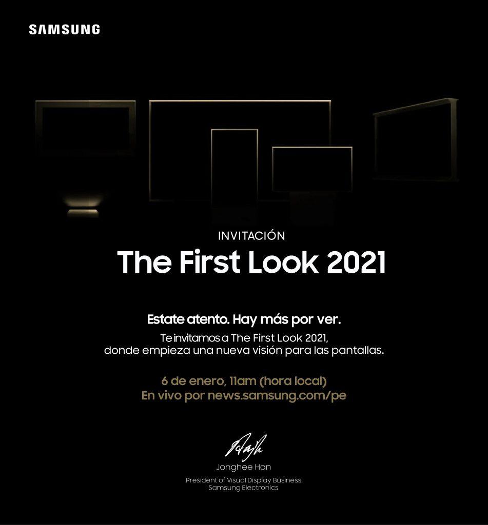 """Foto de Día y hora del evento de Samsung, """"The First Look 2021"""""""