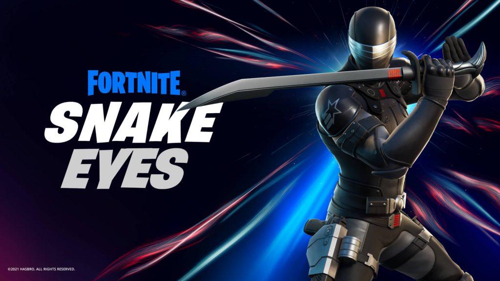Foto de Fortnite: Llega Snake Eyes y también tendrá su figura de acción