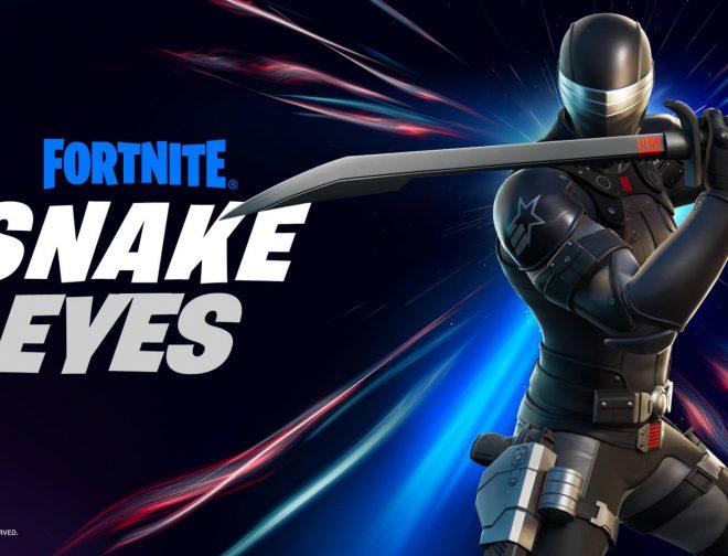 Fotos de Fortnite: Llega Snake Eyes y también tendrá su figura de acción