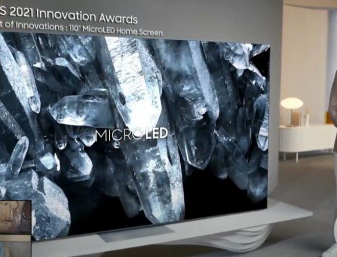 Fotos de CES 2021: Samsung presentó sus novedades de televisores para este 2021