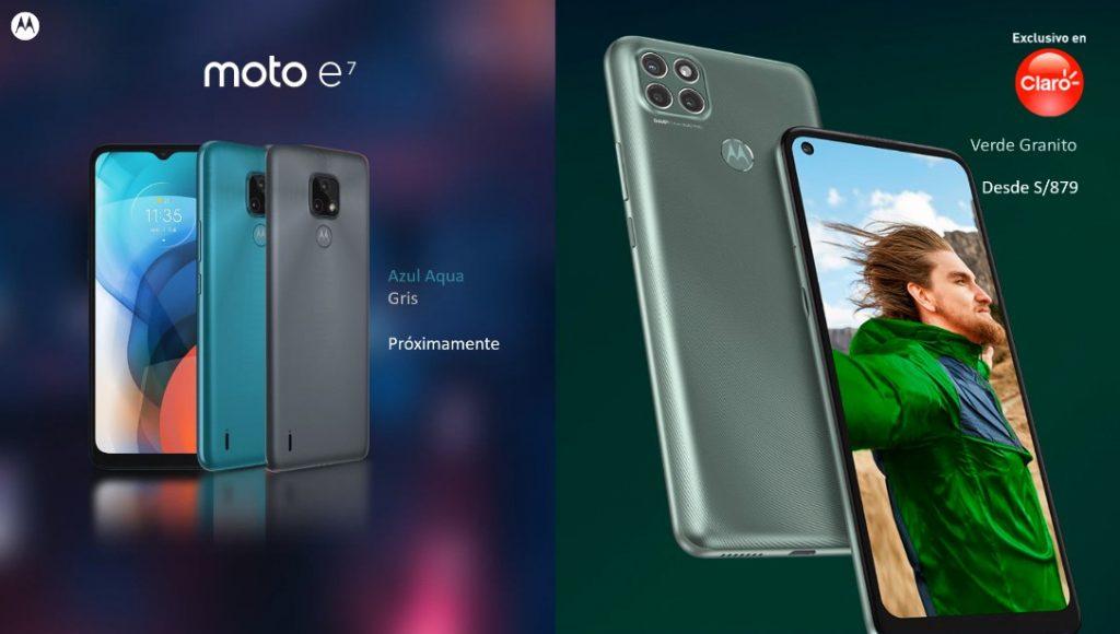 Foto de Motorola presentó sus nuevos Moto E7 y Moto G9 Power