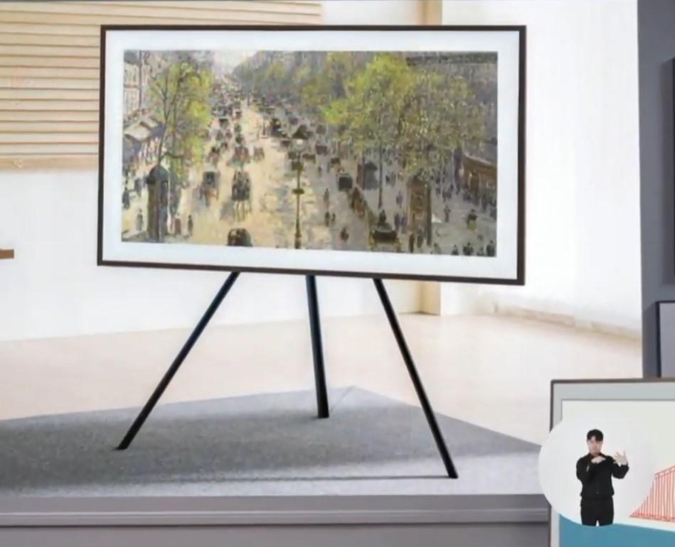 Foto de Samsung: Tecnología de TV que refleja su estilo en interiores o exteriores