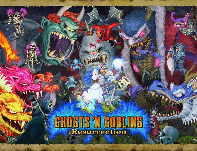 Fotos de Nuevo tráiler y gameplay de Ghosts 'n Goblins Resurrection