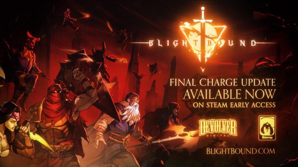 Foto de Nueva actualización para el juego Blightbound -, lleva el nombre de Final Charge