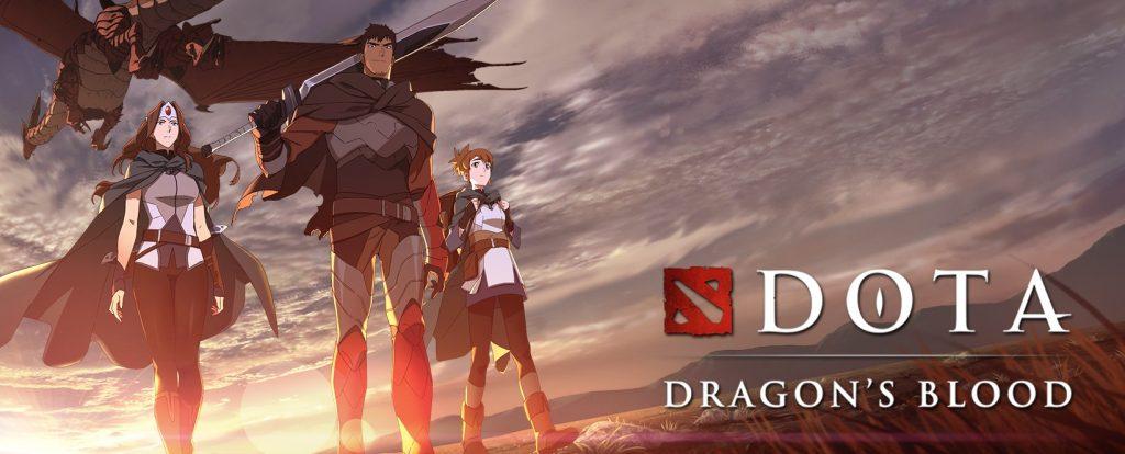 """Foto de Valve anuncia """"DOTA: Dragon's Blood"""" su anime que llegará a Netflix"""