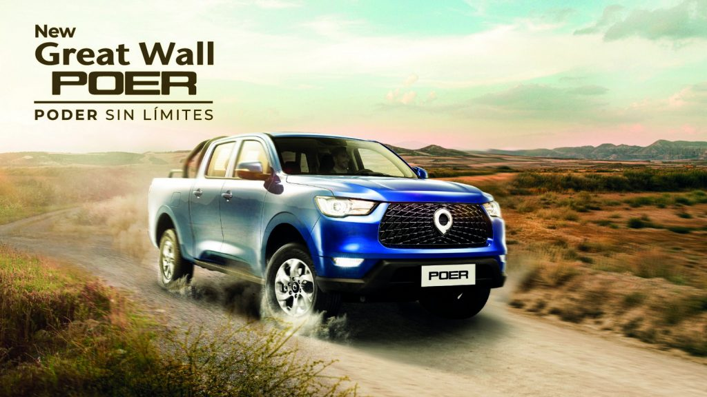 Foto de POER la nueva Pick Up Premium de Great Wall Motors, que ya está en Perú
