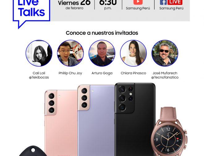 Foto de Samsung Live Talks: Participa y descubre lo nuevo del Galaxy S21 con los mejores expertos en tecnología
