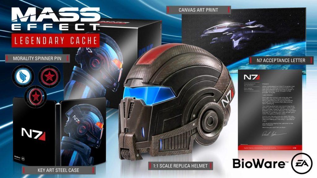 """Foto de BioWare da a conocer el contenido de la edición de colección """"Mass Effect Legendary Cache"""""""