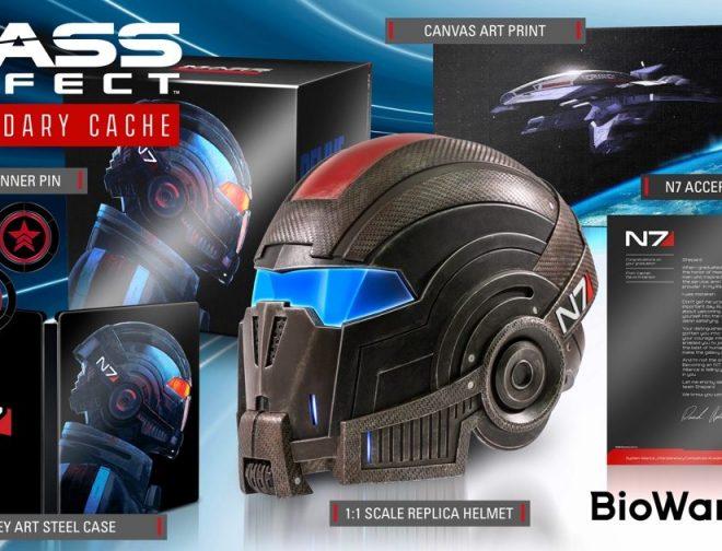 """Fotos de BioWare da a conocer el contenido de la edición de colección """"Mass Effect Legendary Cache"""""""