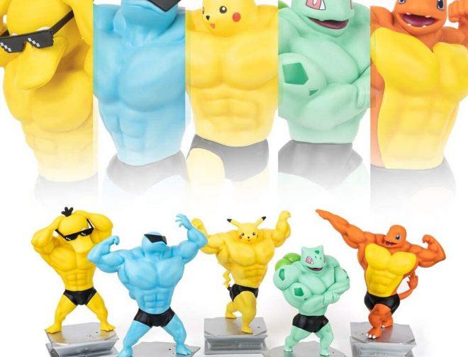 Fotos de Ahora podrás tener figuras de Pokémon en sus versiones musculosas