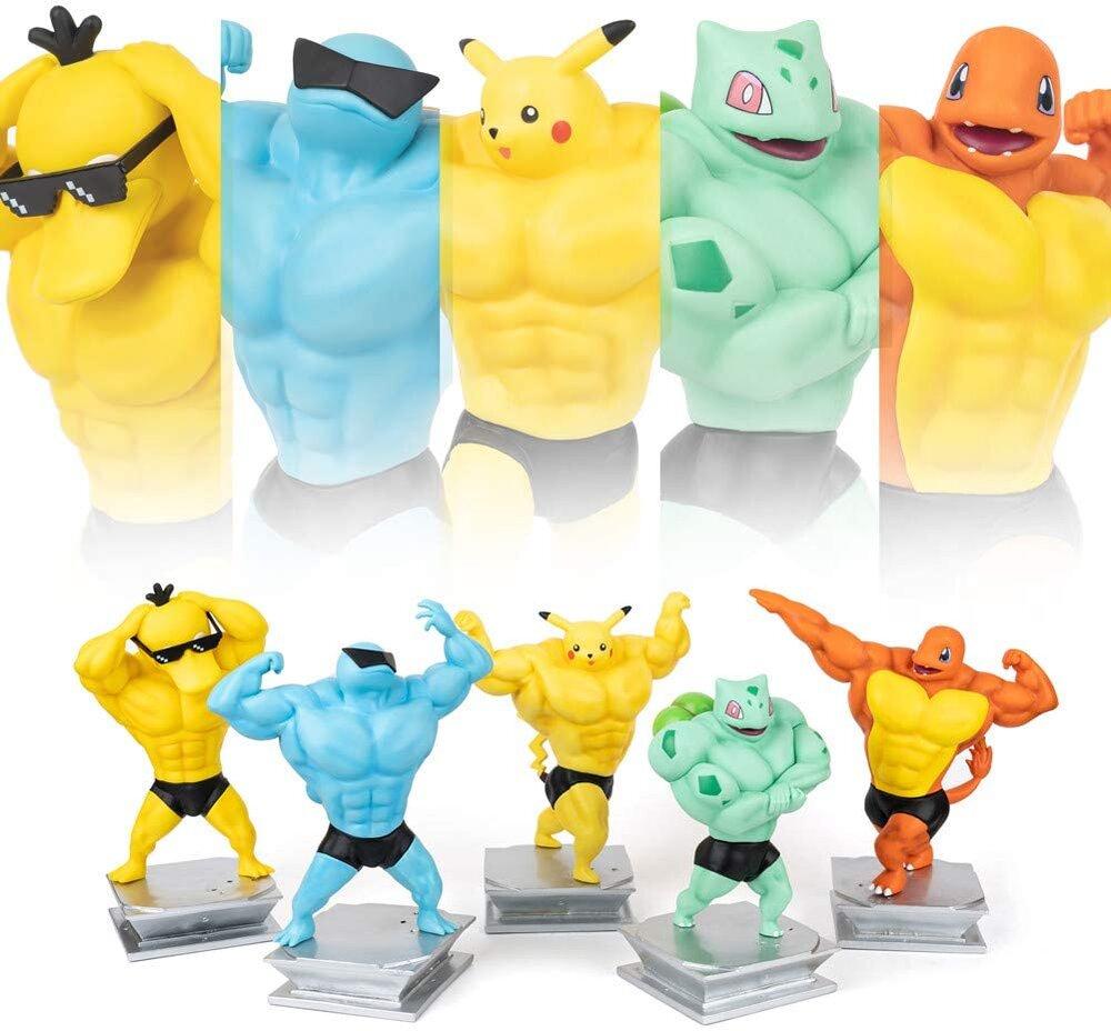 Foto de Ahora podrás tener figuras de Pokémon en sus versiones musculosas