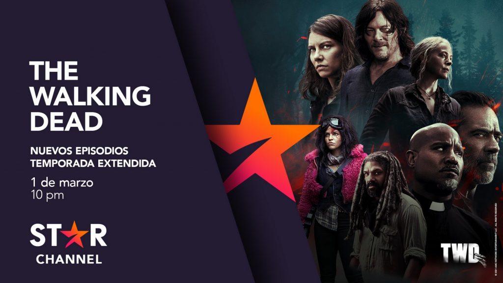 """Foto de La décima temporada de """"The Walking Dead"""" regresa a Star Channel con seis nuevos episodios"""