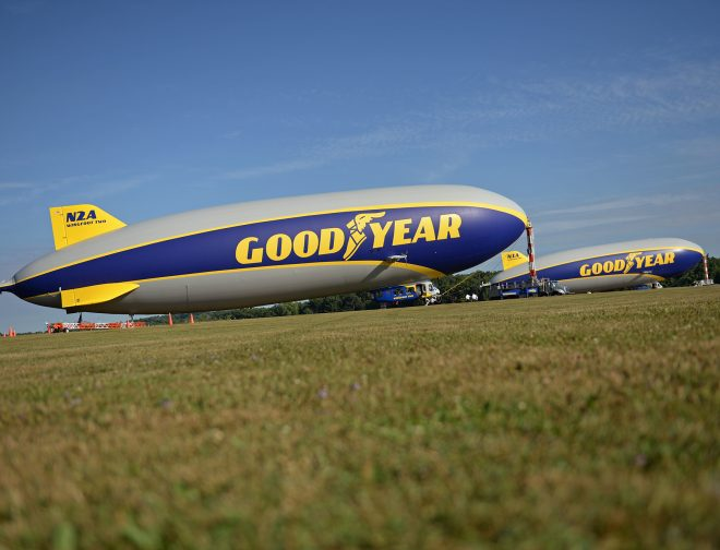 Fotos de El dirigible Goodyear: Una historia de innovación contada en los cielos