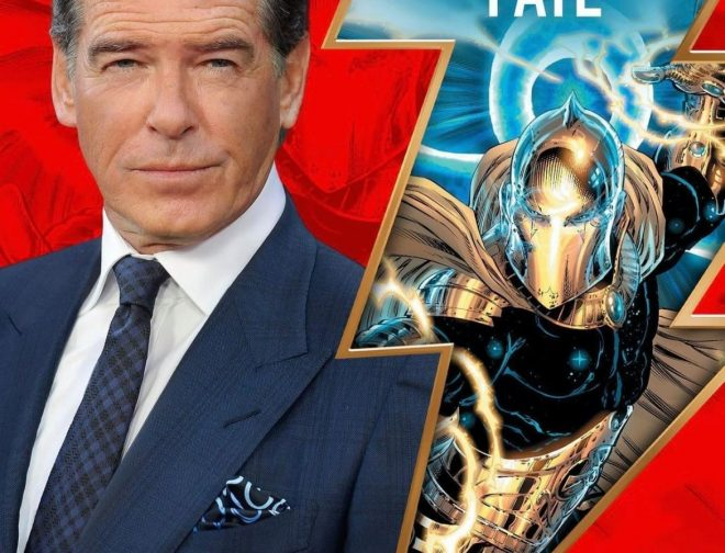 Fotos de Pierce Brosnan será Doctor Fate en la película de Black Adam
