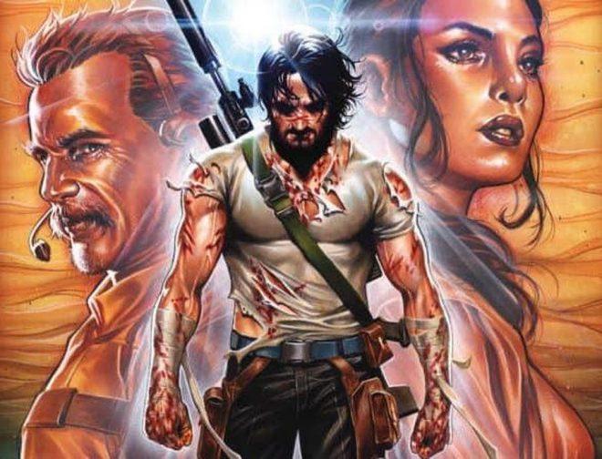 Fotos de Netflix y Keanu Reeves se juntan para una película y un anime basados en el cómic de BRZRKR