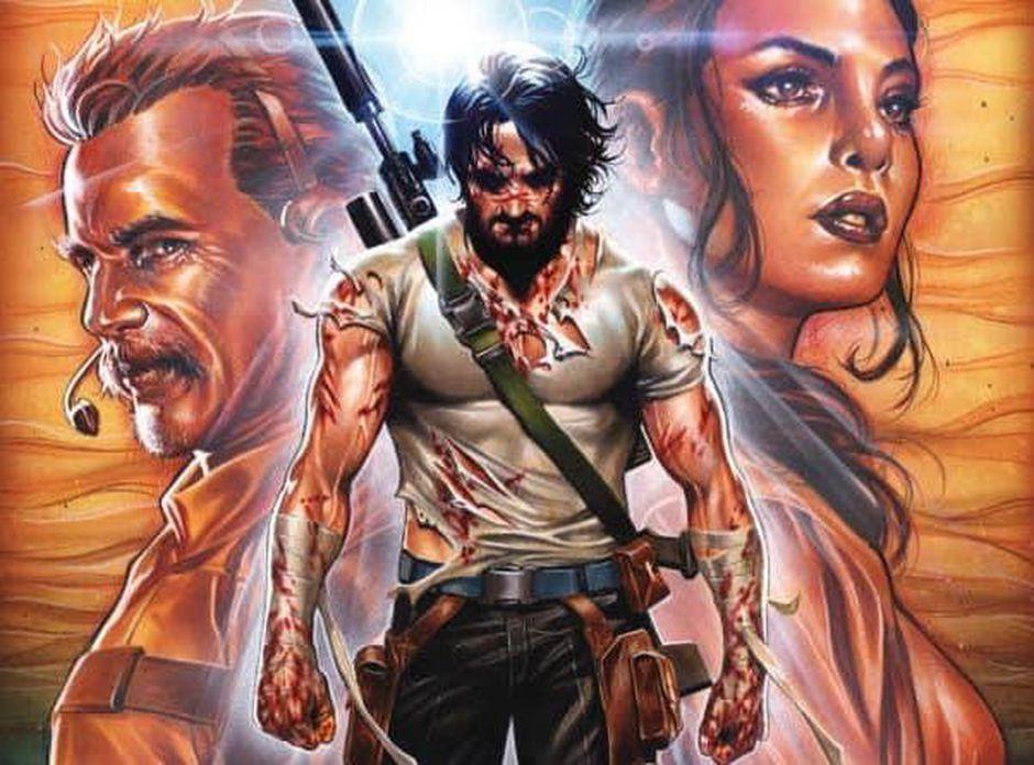 Foto de Netflix y Keanu Reeves se juntan para una película y un anime basados en el cómic de BRZRKR