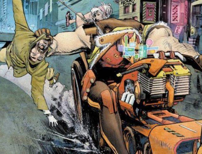 Fotos de Cary Fukunaga dirigida el live action basado en el cómic Tokyo Ghost