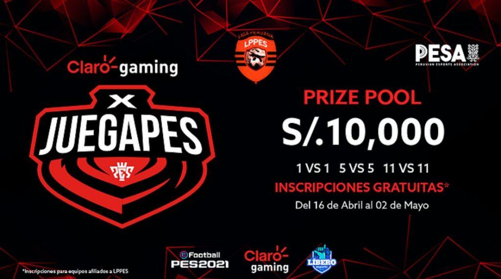 Foto de Claro Gaming, PESA y LPPES presentan Claro Gaming X JUEGAPES