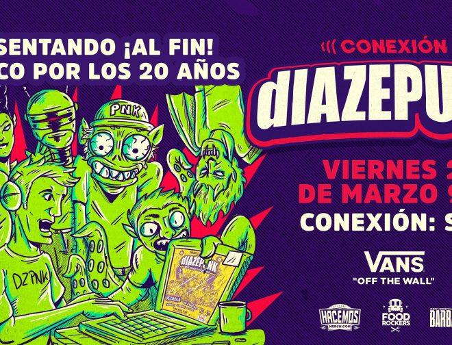 """Fotos de Conoce más del evento online """"Diazepunk 20 años – En vivo"""""""