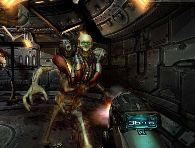 Fotos de Bethesda confirma que DOOM 3 VR llegará a PS4 y PS5