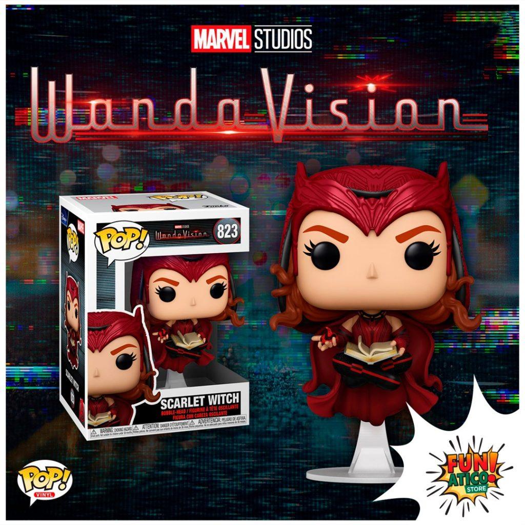 """Foto de Esta es la colección de Funkos de la serie de Marvel """"WandaVision"""""""