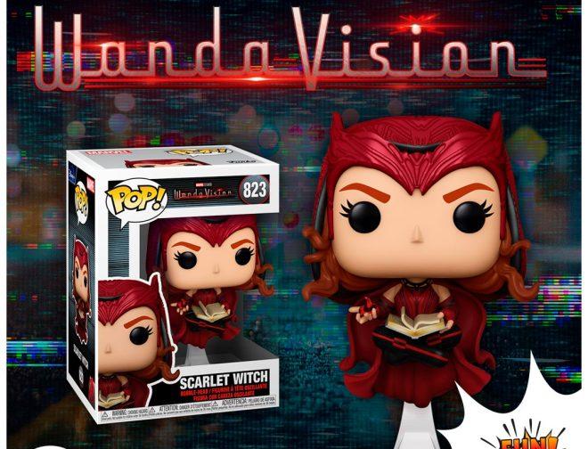 """Fotos de Esta es la colección de Funkos de la serie de Marvel """"WandaVision"""""""