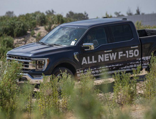 Fotos de All New Ford F-150, llega a Perú y pone a prueba toda su potencia de Raza Fuerte en un circuito extremo