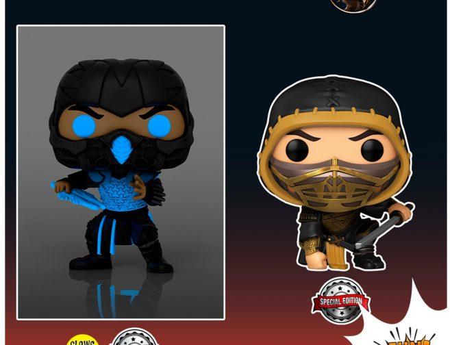 Fotos de FUNKO anuncio las figuras basadas en película live action de Mortal Kombat