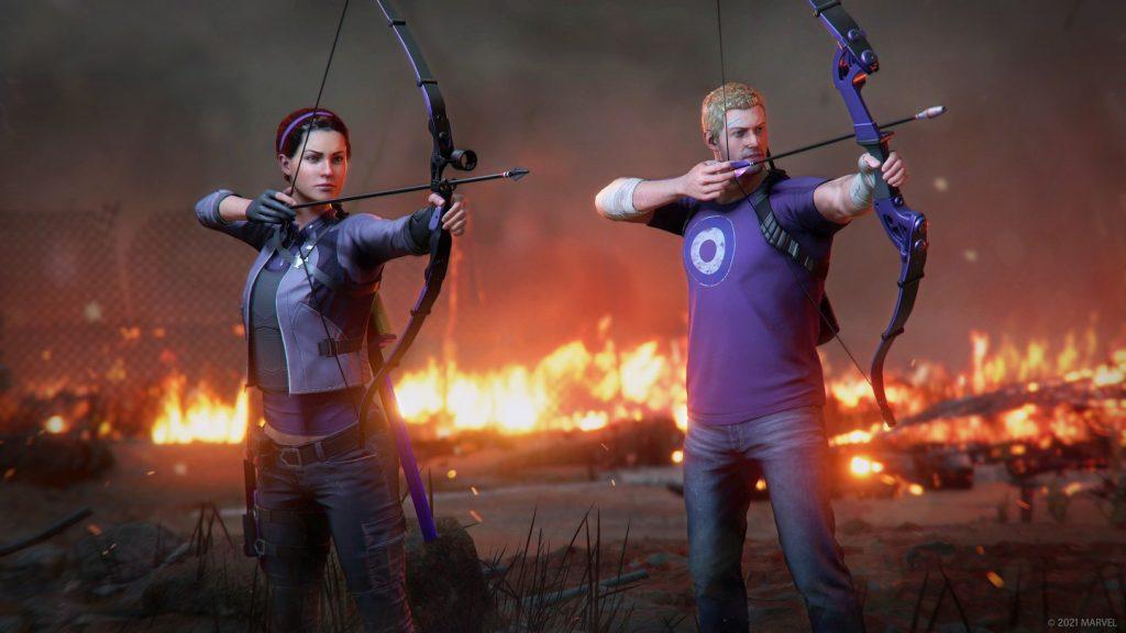 Foto de Marvel's Avengers llega a las nuevas consolas y anuncia DLC con Hawkeye